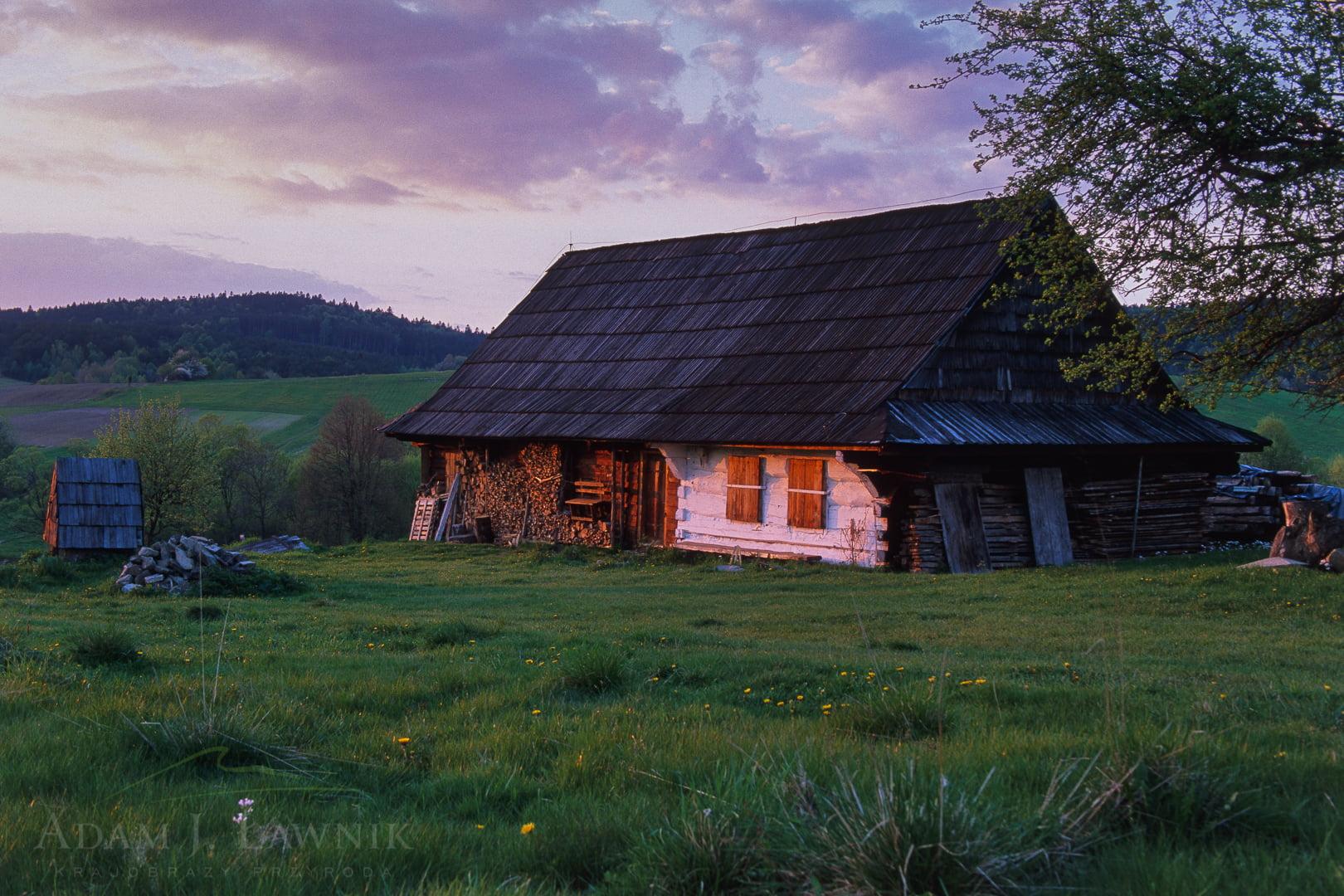 Low Beskids, Poland 0605-01723P