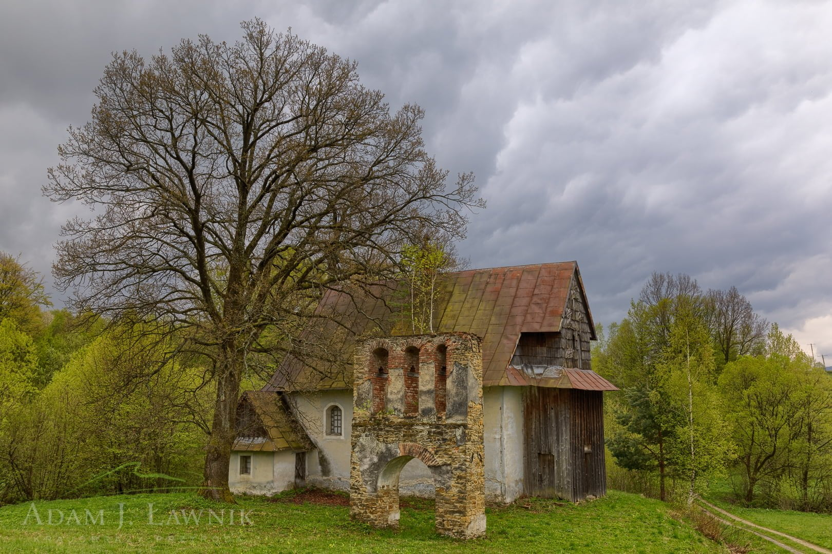 Cerkiew w Grabówce w Beskidzie Niskim
