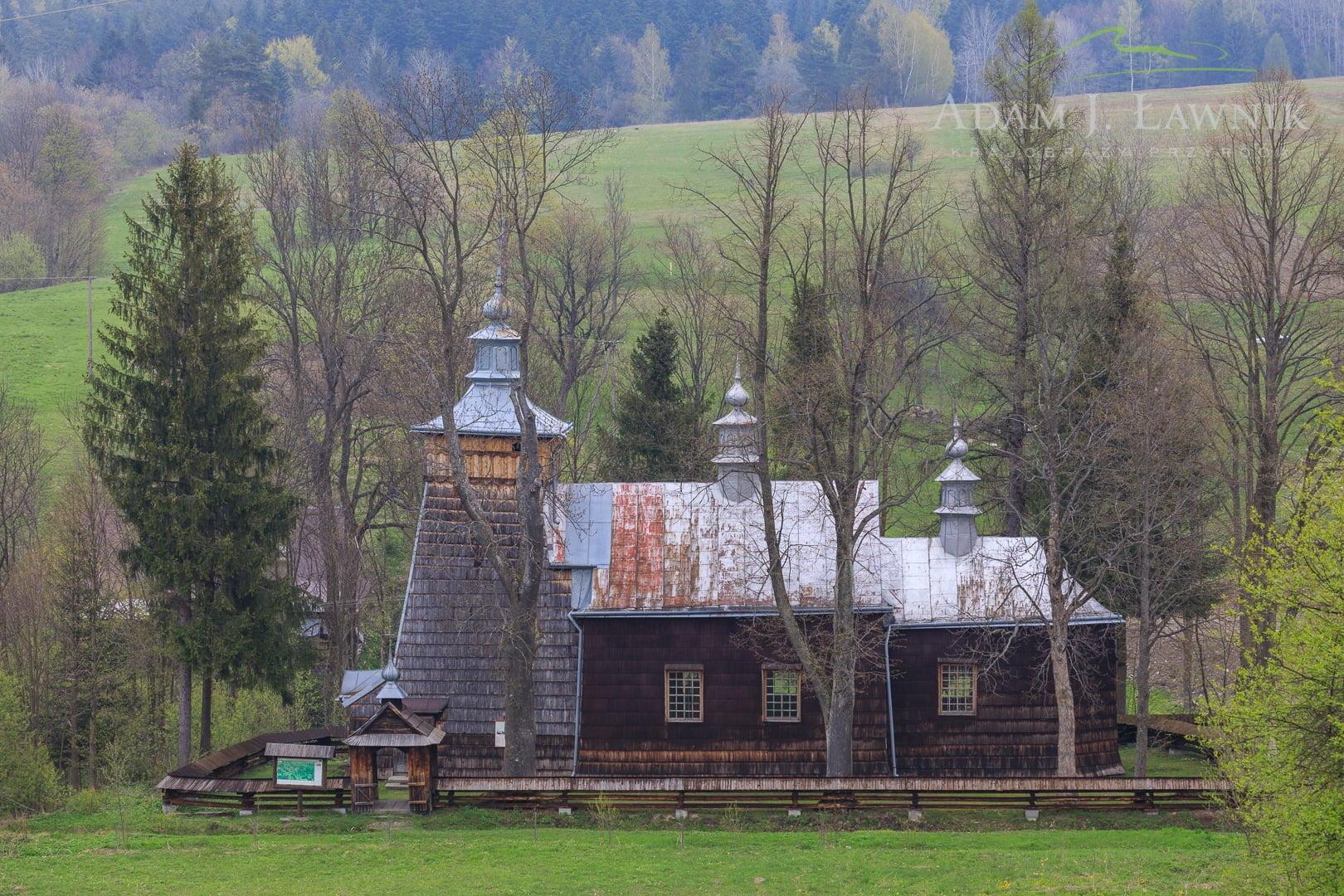 Cerkiew w Nowicy w Beskidzie Niskim