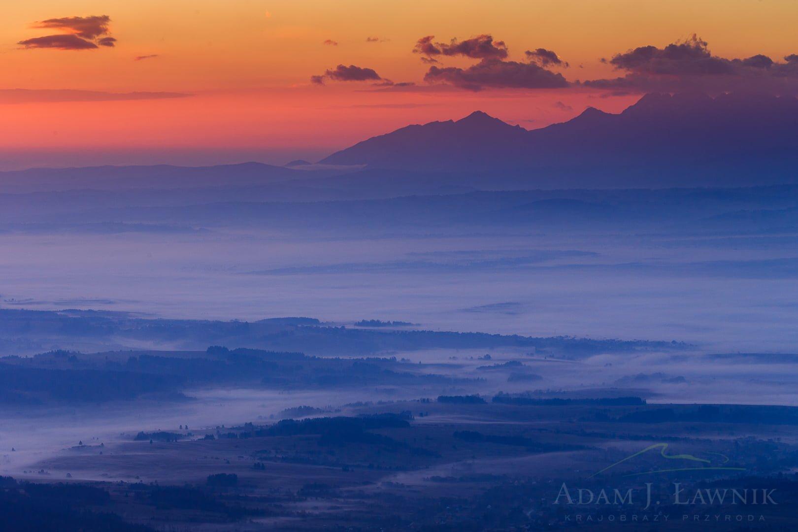Widok z Babiej Góry