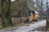 Wieś Brzostowo w Biebrzańskim Parku Narodowym