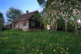 Stara chałupa w Biebrzańskim Parku Narodowym
