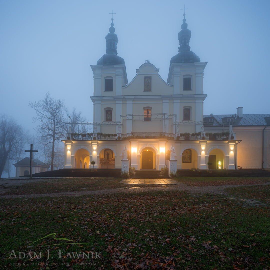 Klasztor franciszkanów w Kalwarii Pacławskiej