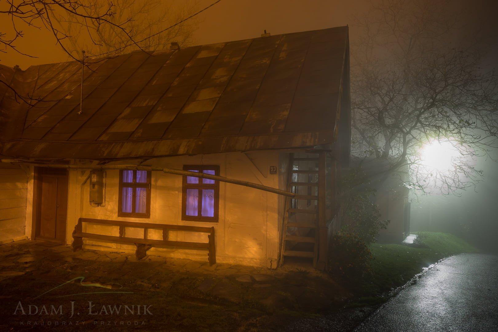 Stary dom w Kalwarii Pacławskiej