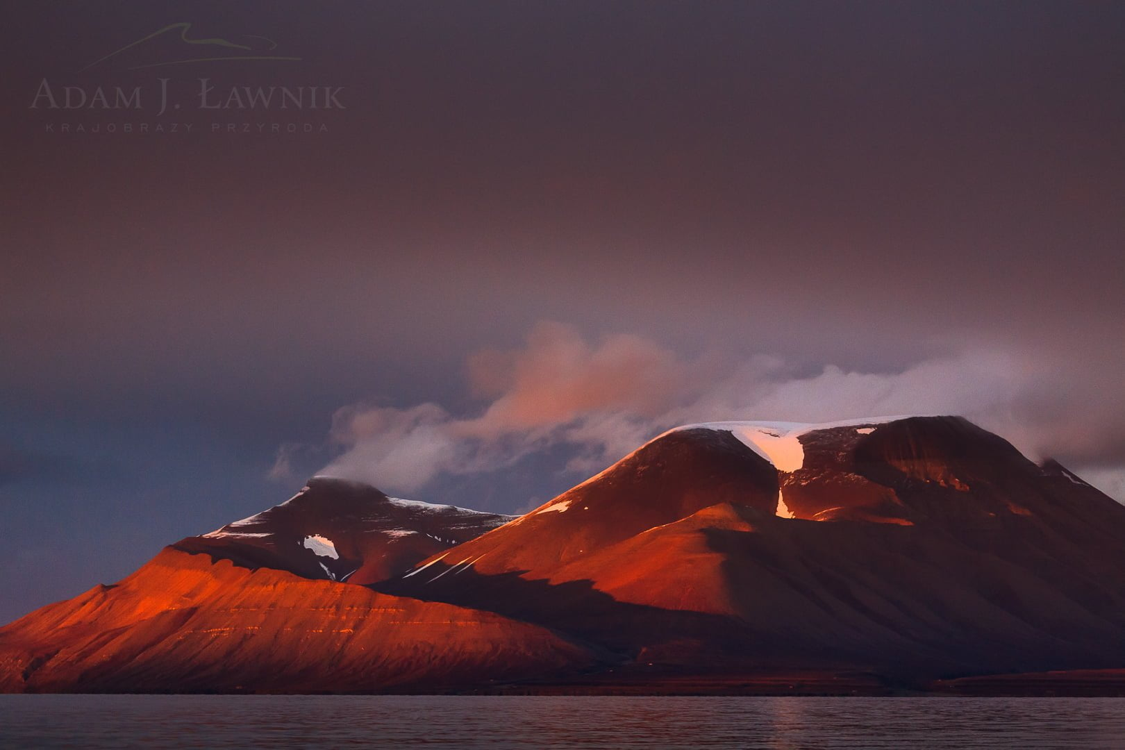 Spitsbergen, Arctic 0709-01484C