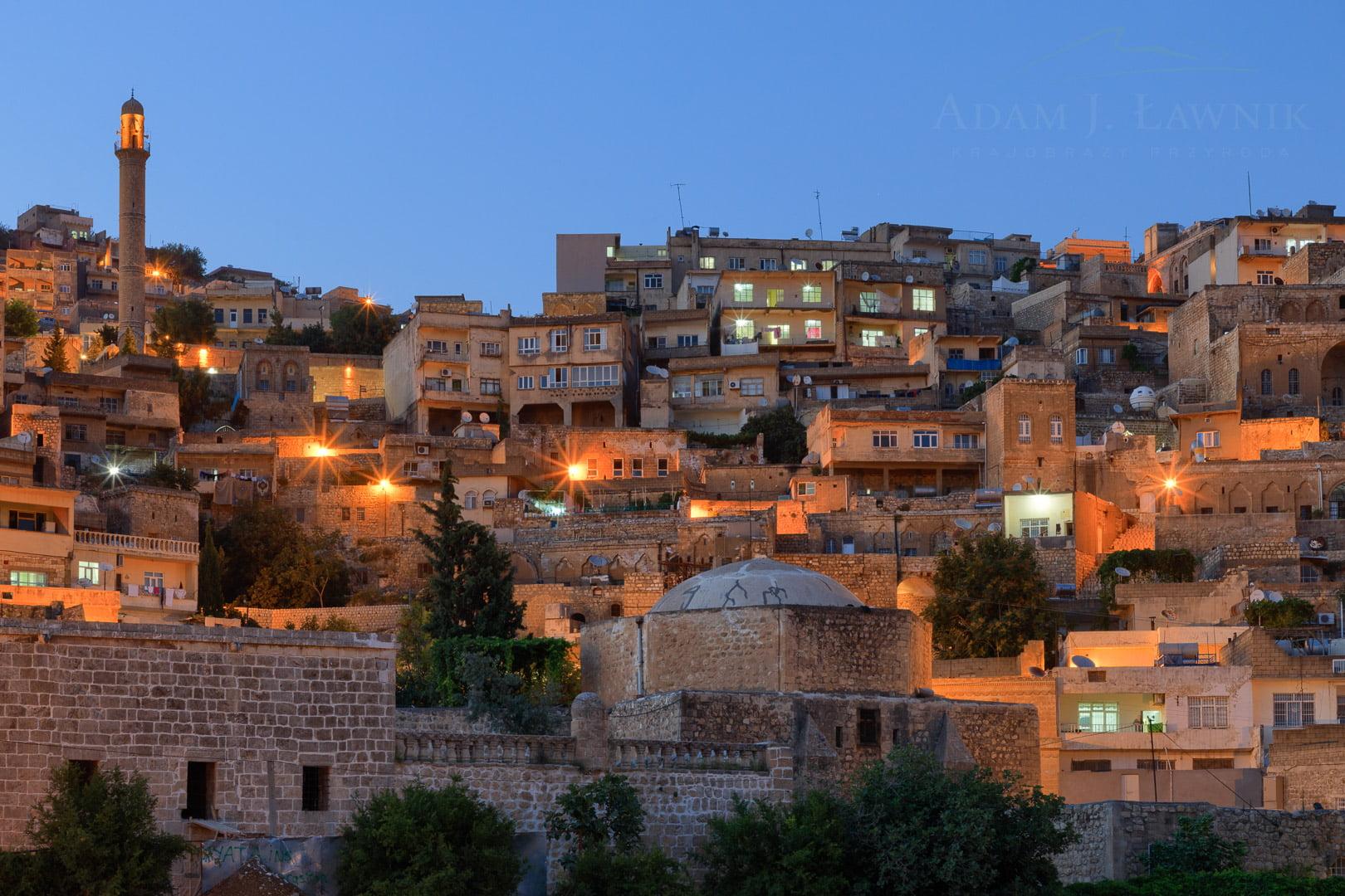 Mardin nocą