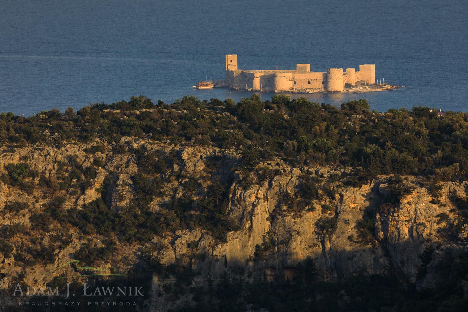 Zamek w Kızkalesi